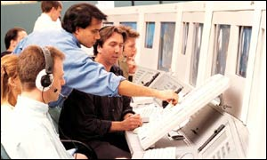 Workers at Swanwick air traffic control centre