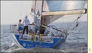 Team News Corp head down the Chesapeake Bay