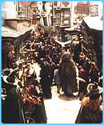 Diagon Alley from the film