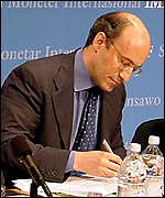 Kenneth Rogoff, director of research, IMF