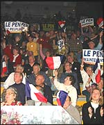 Le Pen's supporters in Marseille