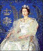 Henry Marvell Carr painted the Queen in 1959