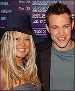 Will Young and Zoe Birkett
