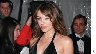 Actress Liz Hurley