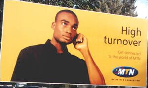 African mobile advert