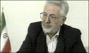 Ebrahim Yazdi pictured in February 2000