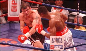 Joe Calzaghe vs Charles Brewer