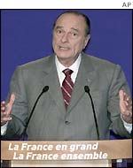 President Jacques Chirac