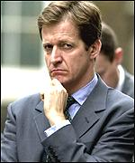 The prime minister's communications chief Alastair Campbell