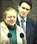 Former ministers Mo Mowlam and Peter Mandelson