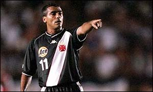 Romario is now second only to Pele in the all-time lists
