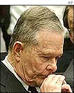 Convicted priest John Geoghan at his trial earlier this year