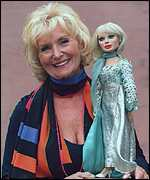 Lady Penelope and Sylvia Anderson