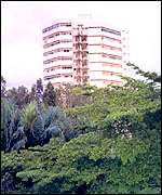 Ivory Coast's tower block in Abidjan