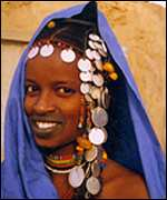 Mebe, a Fulani girl in northern Mali