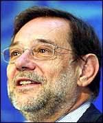 EU High Representative of the common Foreign and Security policy, Javier Solana,
