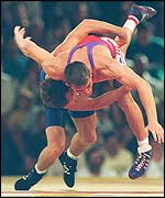 Wrestling at the 1994 Games in Victoria