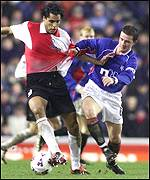 Feyenoord defeated Rangers in this season's Uefa Cup