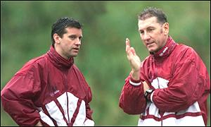 Eric Black with assistant Terry Butcher