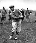 Bobby Jones claimed a unique sweep in 1930