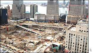 Ground Zero after clearing work