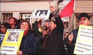 Bbc News Europe Pinochet Arrested In London