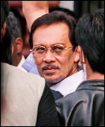 [ image: Anwar denies charges of committing illegal homosexual acts]
