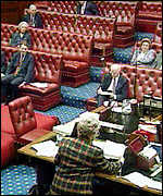 [ image: The Lords have gone against the government 29 times so far this session]