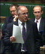 [ image: Denis MacShane MP: calling for Mr George's resignation]