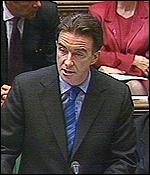 [ image: Mandelson: Made an emergency statement on Rover]