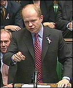 [ image: Hague demands action on economy]