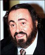 [ image: Luciano Pavarotti: Resting after surgery]