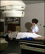 [ image: Radiotherapy can damage women's ovaries]