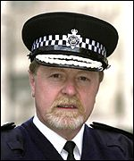 Ian Blair, deputy commissioner of the Metropolitan Police