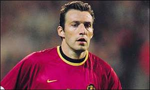 Marc Wilmots in action for Belgium