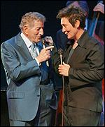 Tony Bennett and kd lang