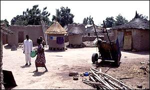 The village of Sikoro in Mali