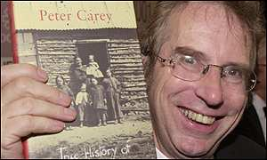Peter Carey won the 2001 Booker Prize