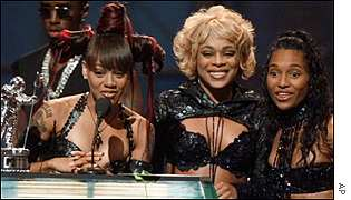 Lopes (left) won many awards with her TLC bandmates