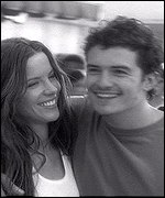 Kate Beckinsale and Orlando Bloom in Gap advert