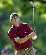 Sergio Garcia was Europe's best player at the 2001 US Open