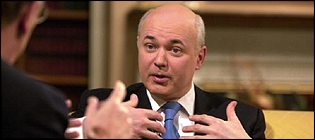 Iain Duncan Smith MP, Conservative Party leader