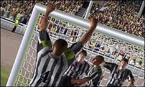Screenshot from Fifa 2002, Electronic Arts