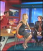 Durden-Smith, Bowman and Denis Leary