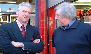 Ray Mallon and supporter