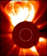 Coronal mass ejection, PA