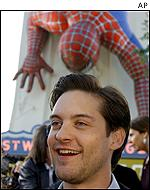 Tobey Maguire has starred in Ice Storm and Cider House Rules