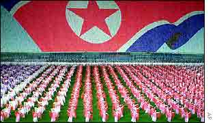 Celebrations in Pyongyang to mark Kim Jong-il's 60th birthday