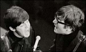 Sir Paul McCartney and John Lennon