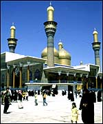 Kadhimain shrine in Baghdad